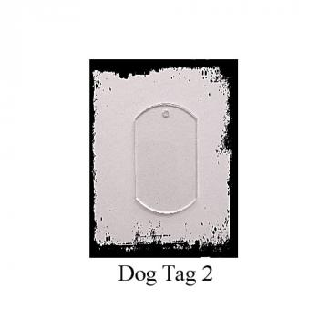 Acrylelement  Dog Tag 2