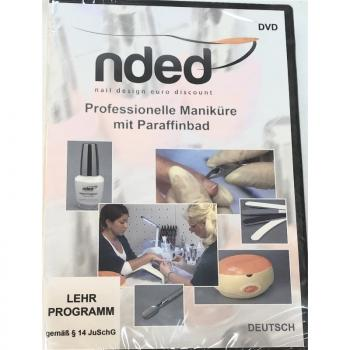 NDED DVD Schulungs-Video Professionelle Maniküre mit Paraffinbad, Deutsch